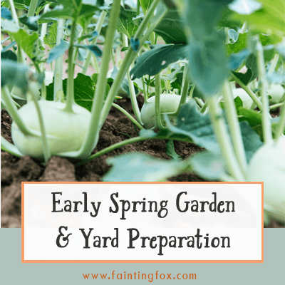 Early Spring Garden and Yard Preparation