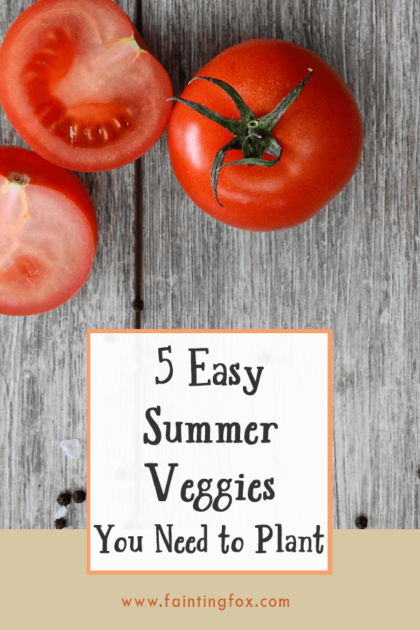 5 Easy Summer Vegetables You Need to Plant | Fainting Fox Farm