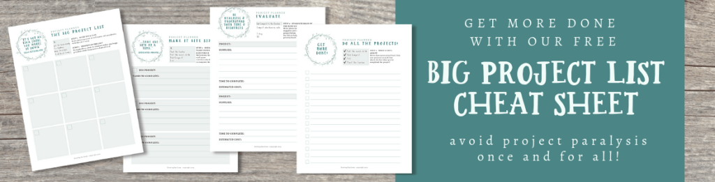 Project Planning Printables