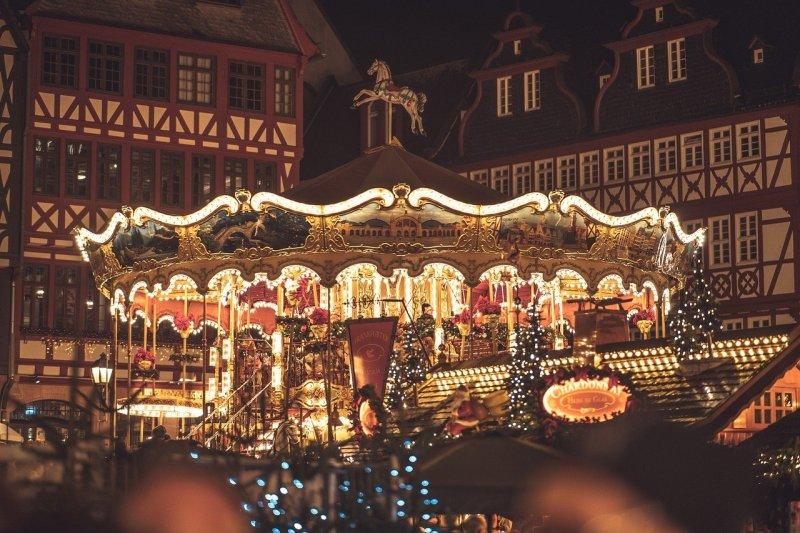 christmas market, christmas, frankfurt