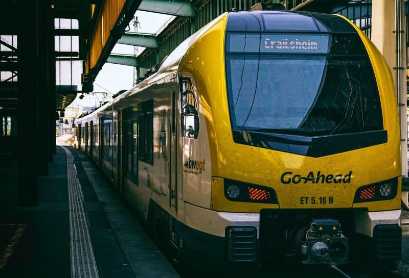 train, station, platform