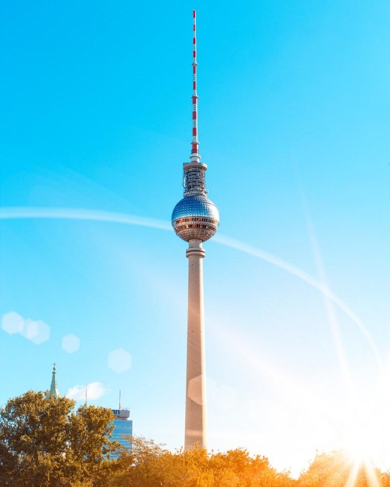 berlin, city, sky