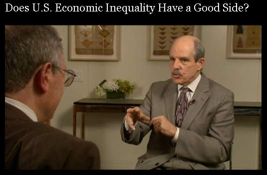 PBS wonders: Does Inequality Have a Good Side?