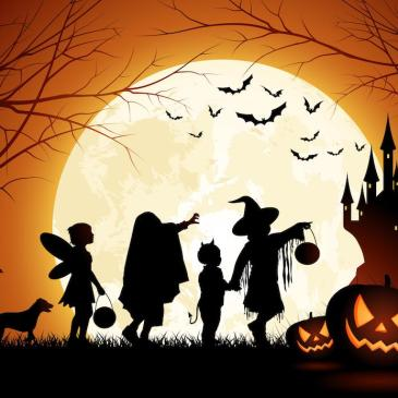 "Fairbrae ""Ghostly Halloween Walk"" Map"