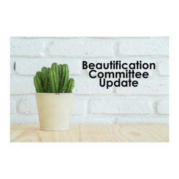 Beautification Update & Thank YOU!
