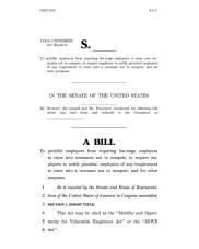 Federal Noncompete Bill - screen shot