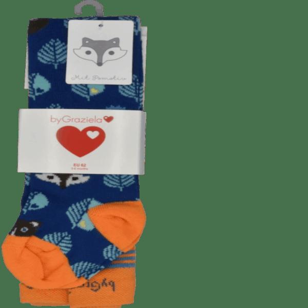 Babystrumpfhose graziela fuchsmotivjungs detail2