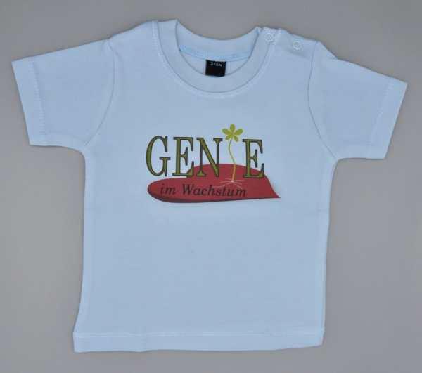 Baby T-Shirt Genie hellblau