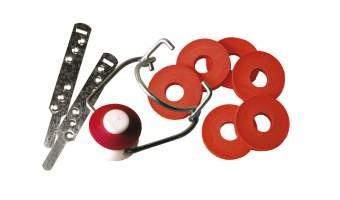 bouchon mecanique porcelaine et collier x 25