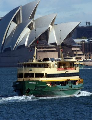 The Narrabeen on Sydney Harbour.