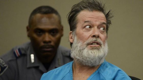 Robert Lewis Dear killed three people and wounded nine when he shot up a Planned Parenthood clinic.