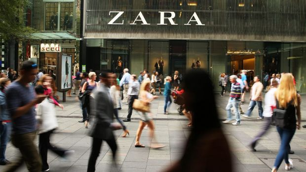 Fast fashion group Zara is said to be reviewing its store rollout program in Australia