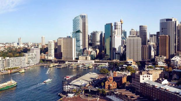 Cranes across Sydney are at record levels as more development occurs.