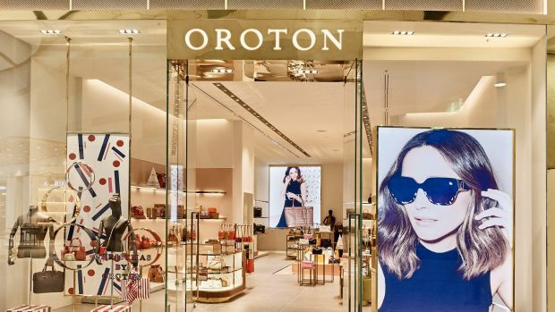 There has been speculation that a private equity business has been looking at Oroton.