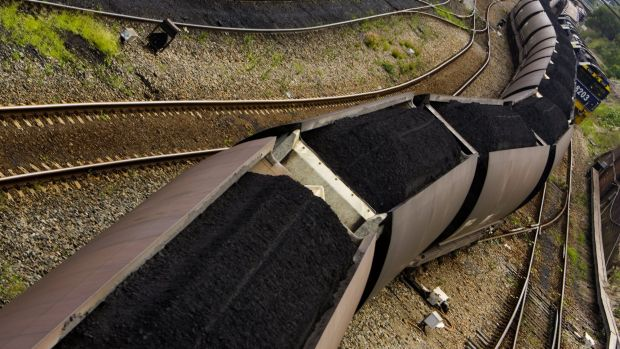 Coal crunch: A rail squeeze is blamed for drop in Hunter Valley coal stockpiles.
