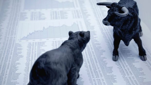 A record 44 per cent of global fund managers believe sharemarkets particularly those in the United States, to be ...