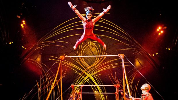 Cirque du Soleil, which started with a small group of street performers in a town near Québec, Canada, 33 years ago, has ...