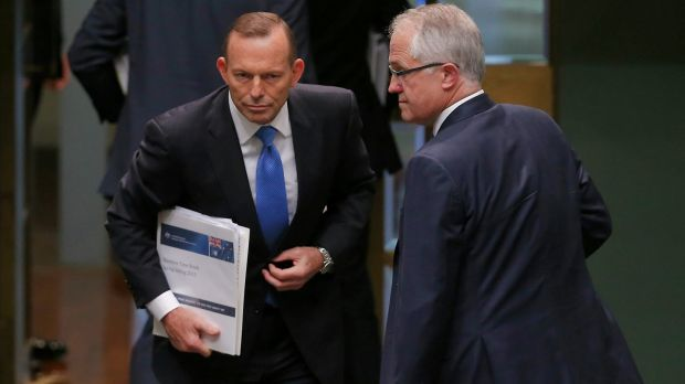The Abbott government pledged to spend two per cent of GDP on defence.