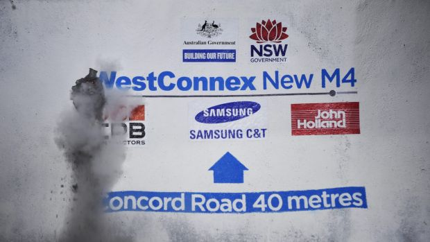 The WestConnex model to be increasingly used here in effect sees government de-risking the project and then selling it ...