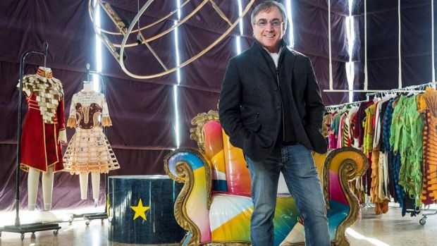 President and CEO of Cirque du Soleil, Daniel Lamarre, says the company is raking in more than $US1 billion in revenue ...