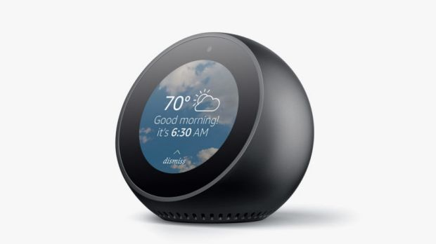 Amazon's Echo Spot wants to put an Alexa-powered smart screen in your home.