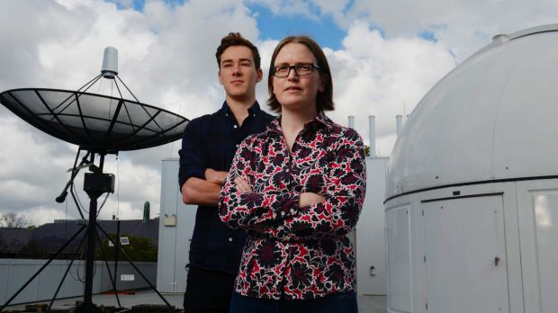 Sydney University's Associate Professor Tara Murphy and PhD candidate Dougal Dobie joined the scientific rush to observe ...