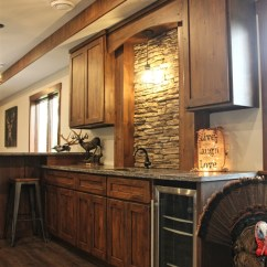 Alder Kitchen Cabinets Wood Countertops Rustic Meadville Pa Fairfield Custom Kitchens