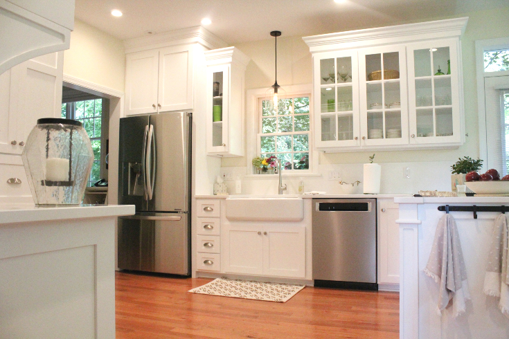 custom kitchen cabinetry experts white with cambria quartz cochranton pa painted cabinets