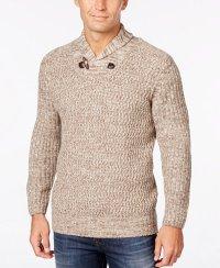 Shawl Collared Sweater - Lera Sweater