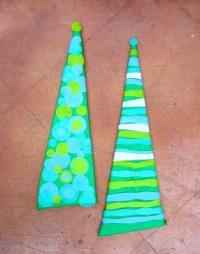 Kid's Craft: Retro Christmas Tree Wall Art - Fairfield ...