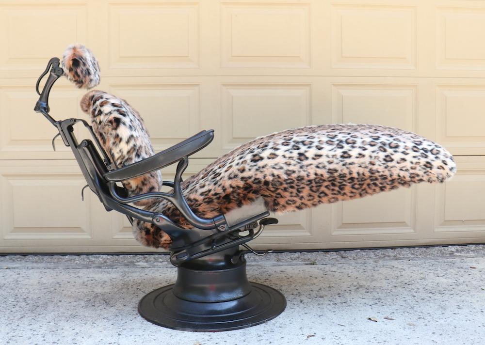 vintage dentist chair office qld fairfield world furniture flip