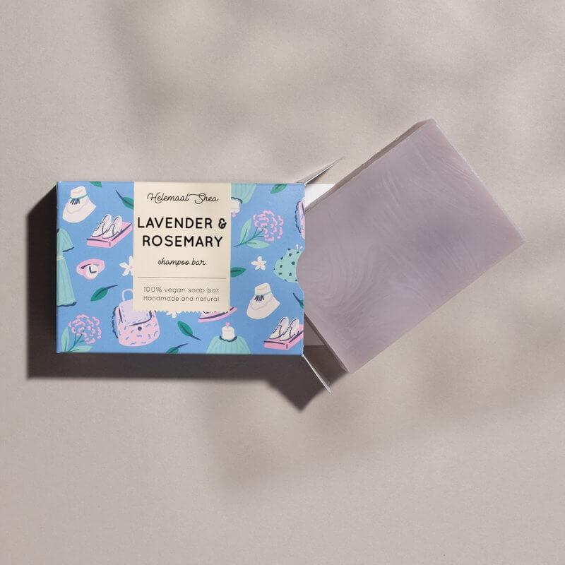 lavendel rozemarijn haarzeep HelemaalShea