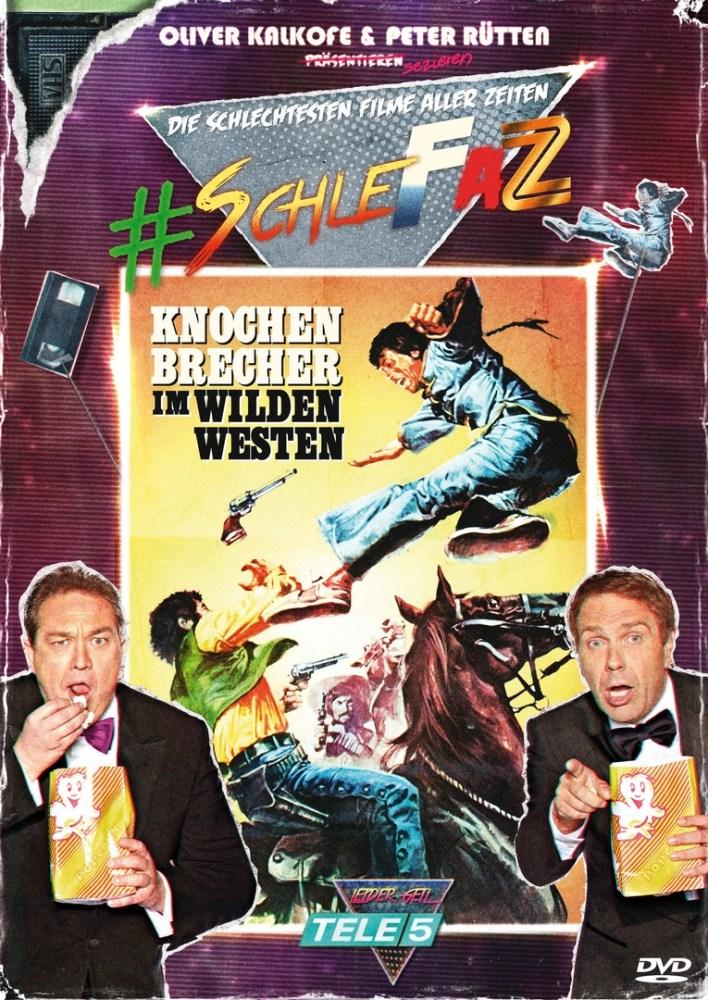 DVD-Rezension + Gewinnspiel: SchleFaZ #2 - Knochenbrecher im Wilden Westen (1/3)