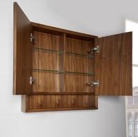 "m4 30"" Medicine Cabinet - Natural Walnut - Fairmont ..."