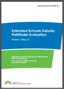 Thumbnail: Extended schools interim report