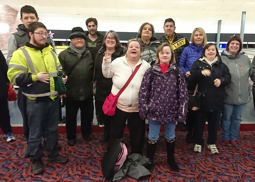 Fairoak tenants 'bowled over' on trip to Carlisle
