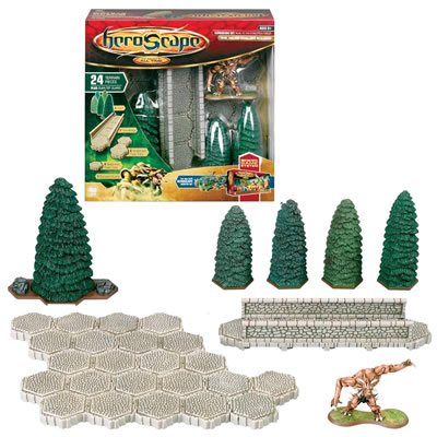 Heroscape - Large Expansion Set - Road to the Forgotten Forest by Hasbro