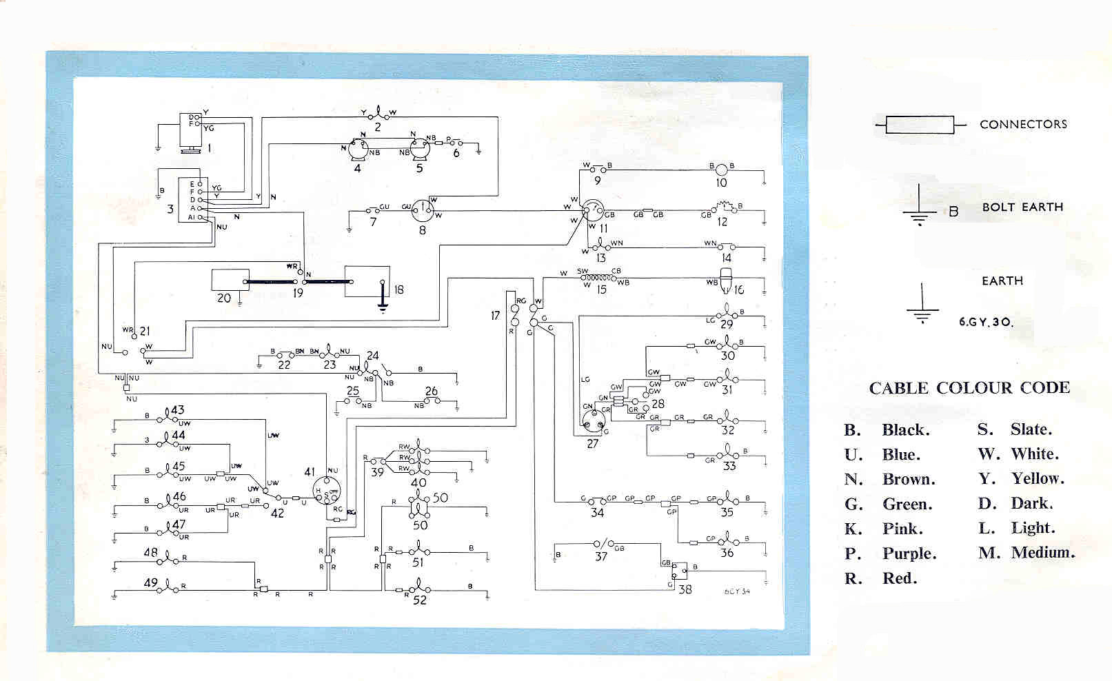 Mg Tf Wiring Diagram