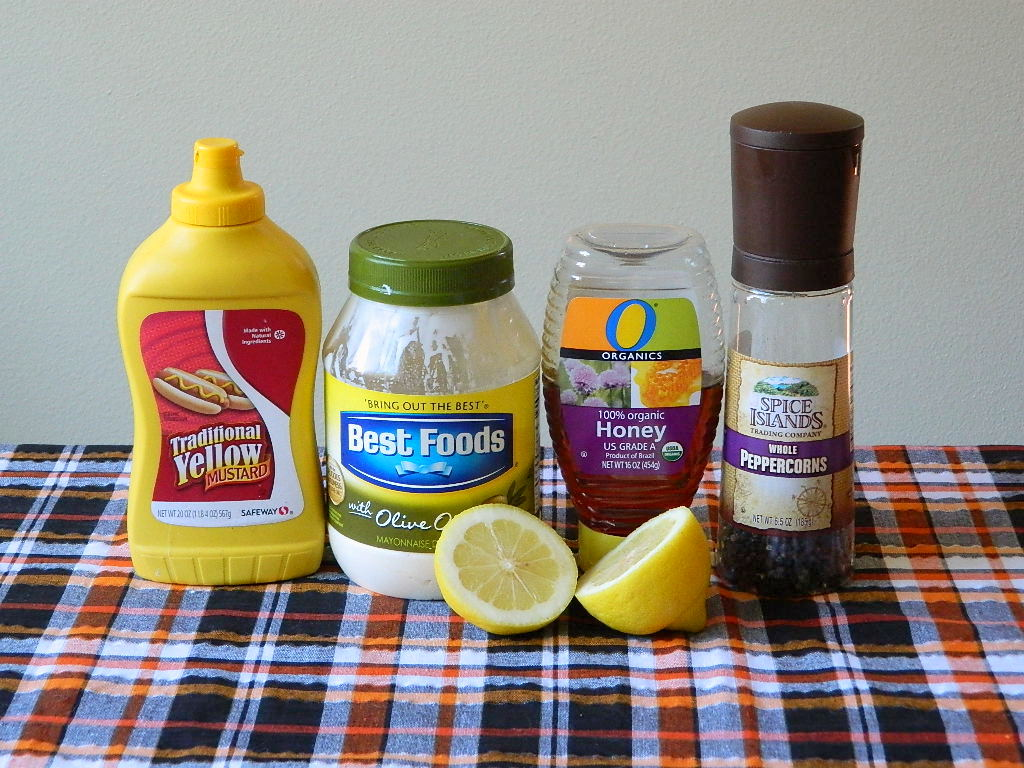Tattooed Martha - Easy Honey Mustard Sauce (1)