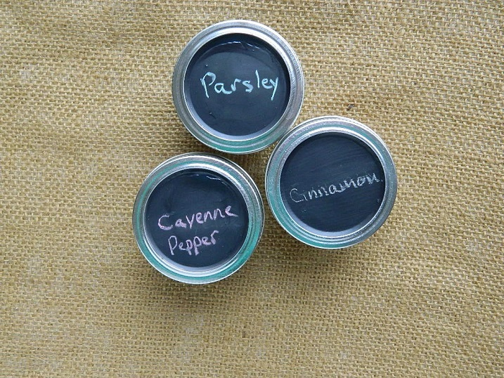 Tattooed Martha - Chalkboard Spice Jars (3)