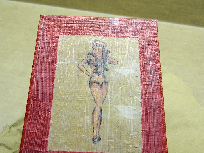 Tattooed Martha - Sailor Jerry Bottle Label Art (15)