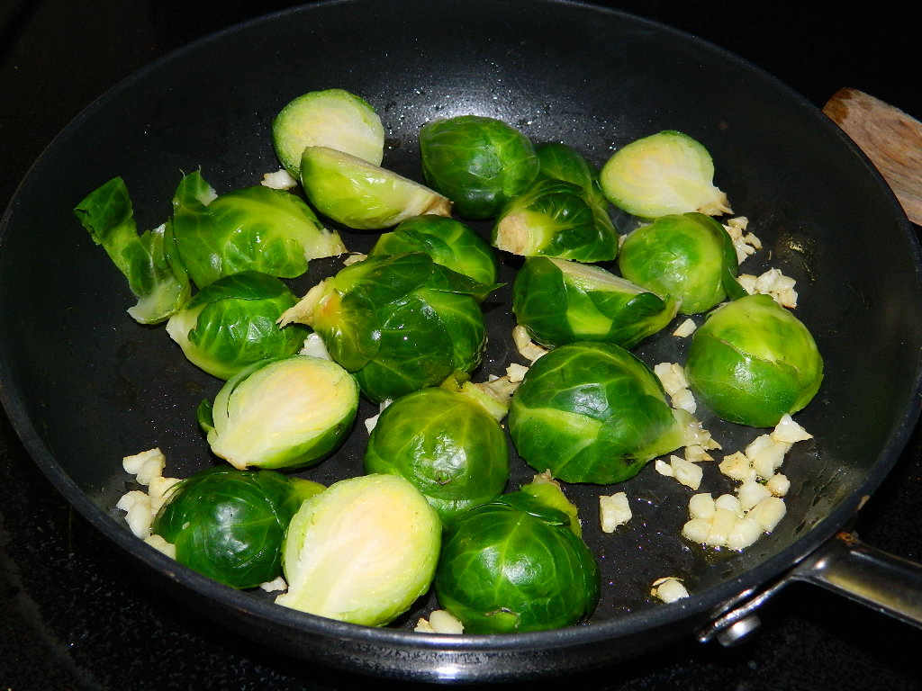 Tattooed Martha - Spicy Garlic Brussels Sprouts (3)