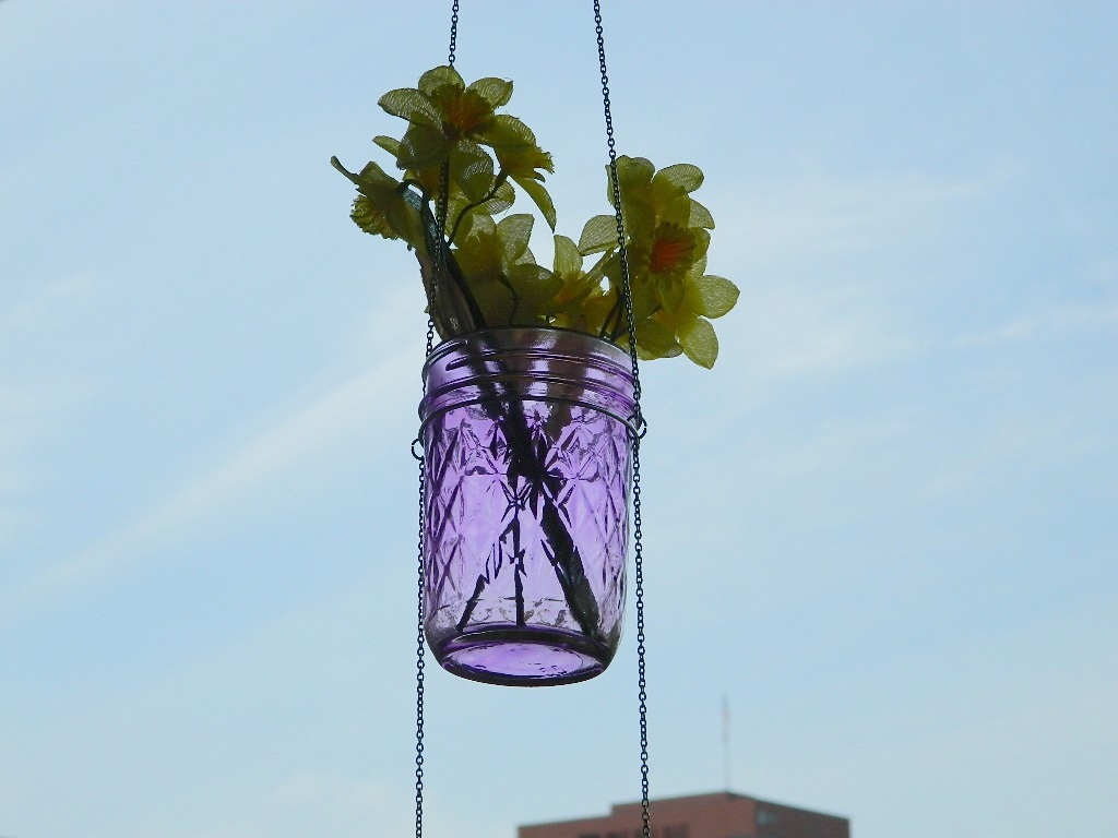 Tattooed Martha - Hanging Mason Jar Planters (12)