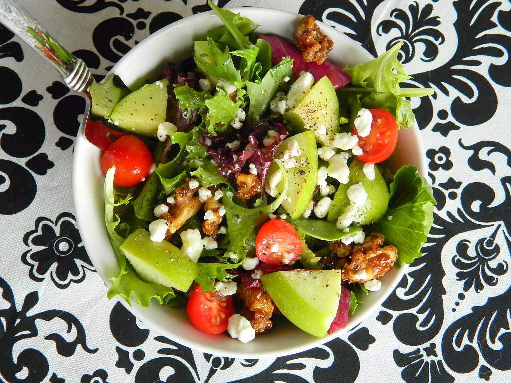 Tattooed Martha - Mixed Greens Salad with Apple Cider Vinaigrette (9)