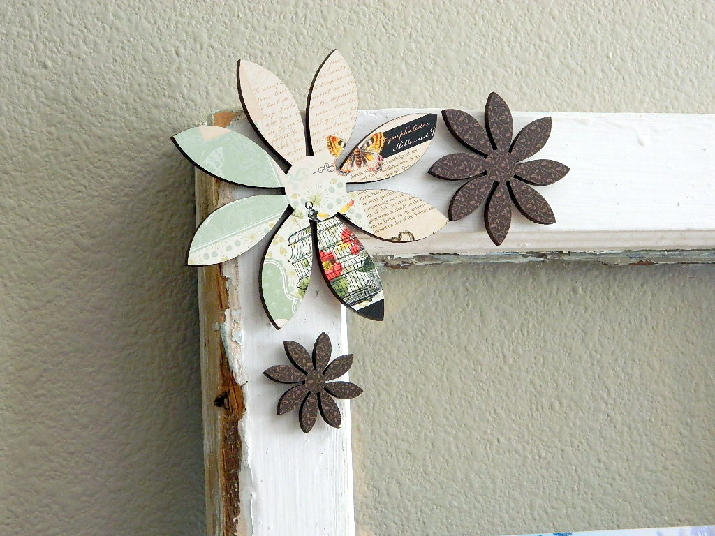 Tattooed Martha - Rustic Picture Window Frame (12)
