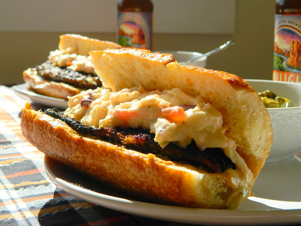 Tattooed Martha - Blackened Cajun Tilapia Po-Boys with Remoulade (7)