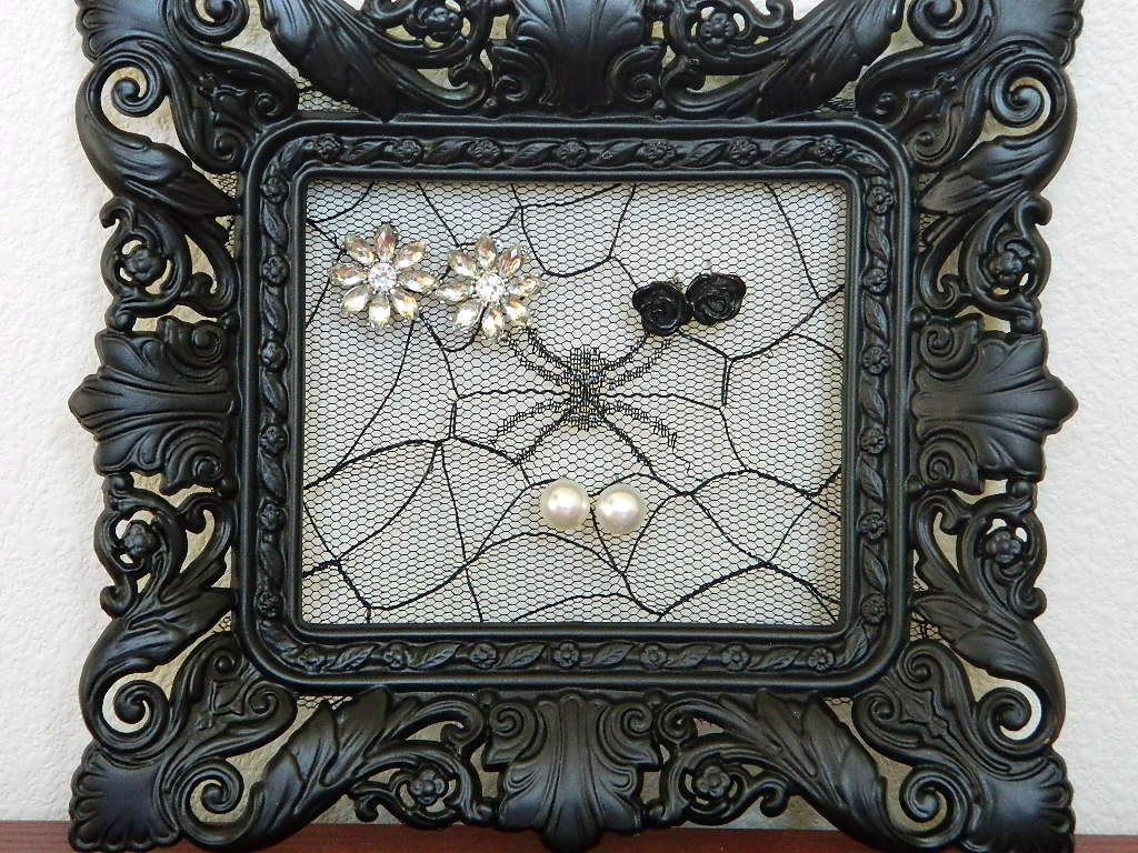 Tattooed Martha - Lace Picture Frame Holder (6)