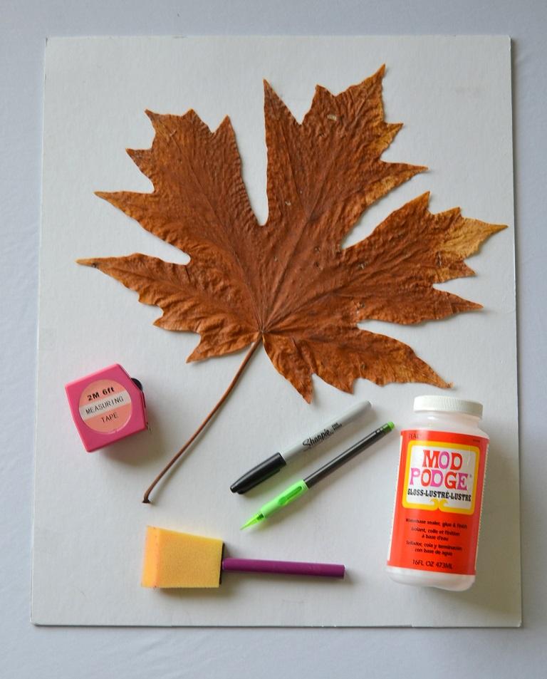 Tattooed Martha - Autumn Leaf Wall Art (1)