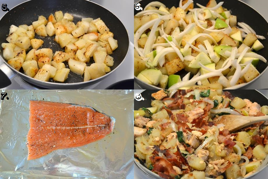 Tattooed Martha - Salmon, Bacon, & Potato Hash (3)