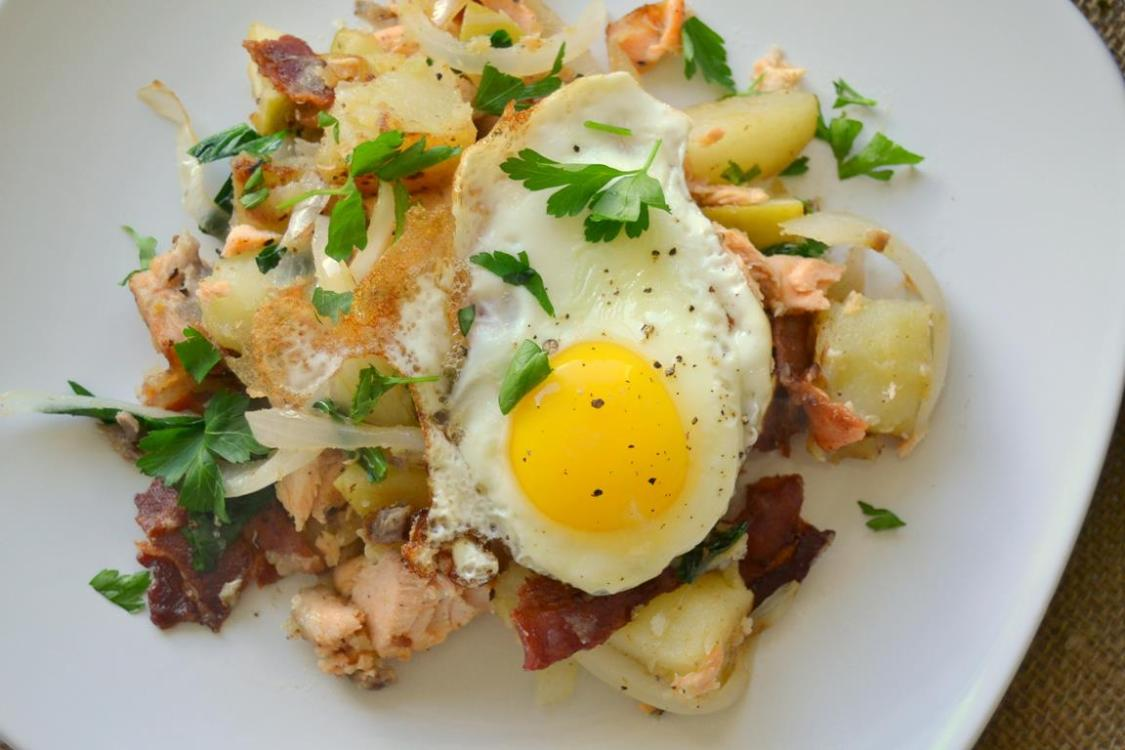Tattooed Martha - Salmon, Bacon, & Potato Hash (5)